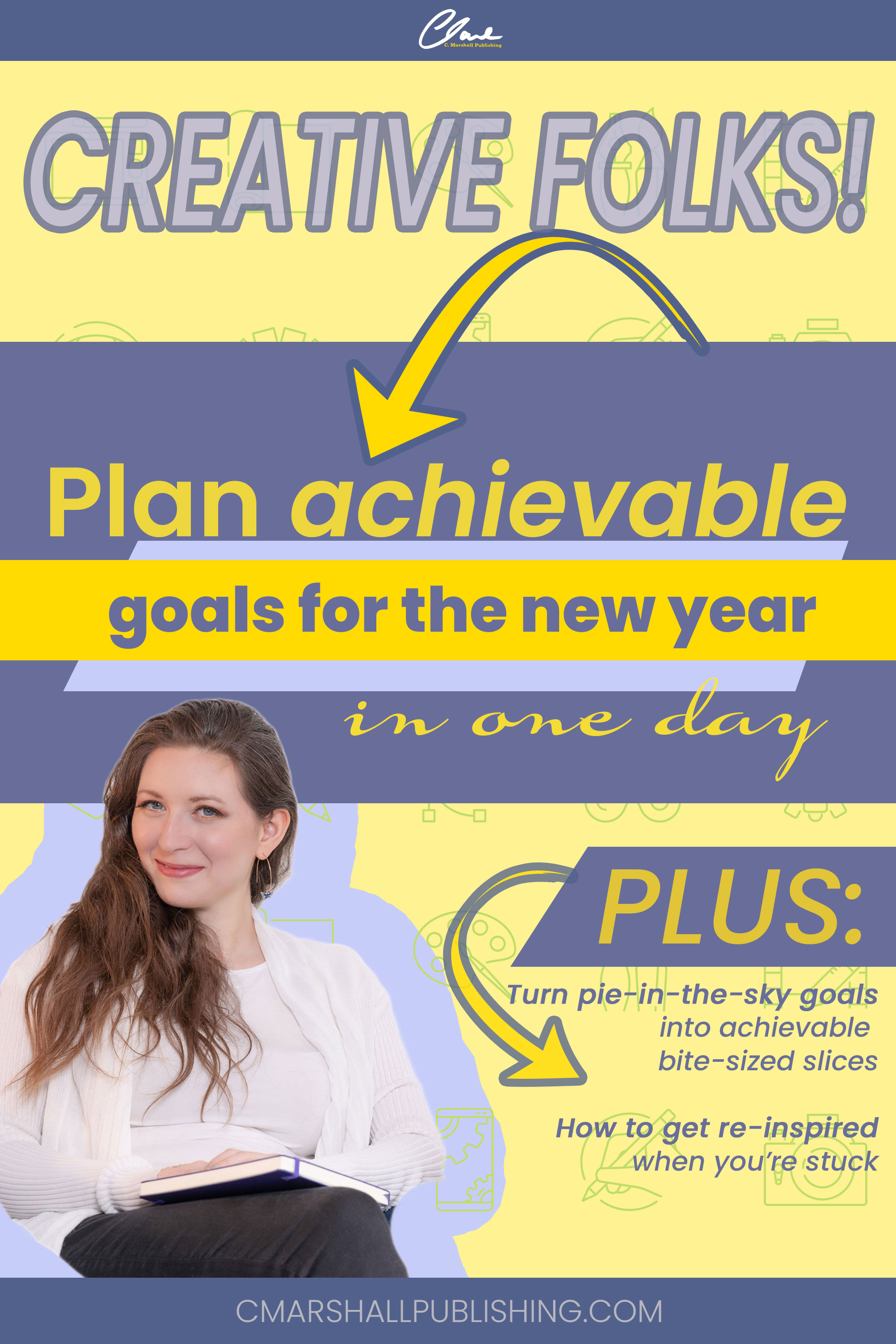 Achieve your new year's goals by distilling large goals into smaller slices