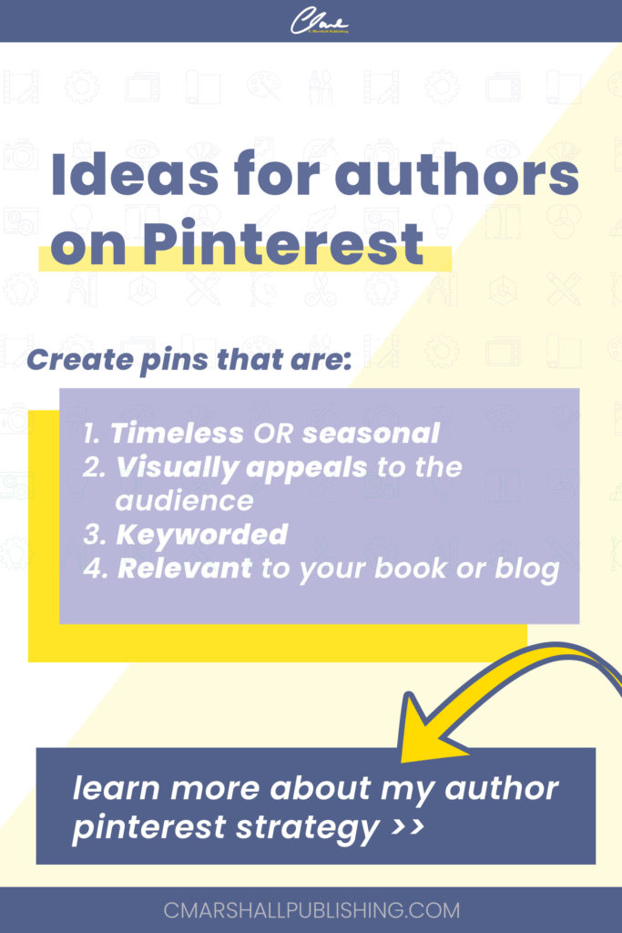 Ideas for authors on Pinterest